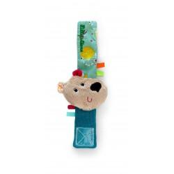Pulsera sonajero del oso César (César bracelet rattle)