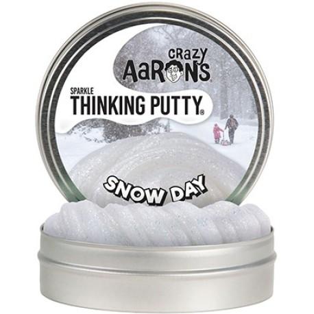 Lata de plastilina de 10 cm - Sparkle - Snow Day - Edición limitada