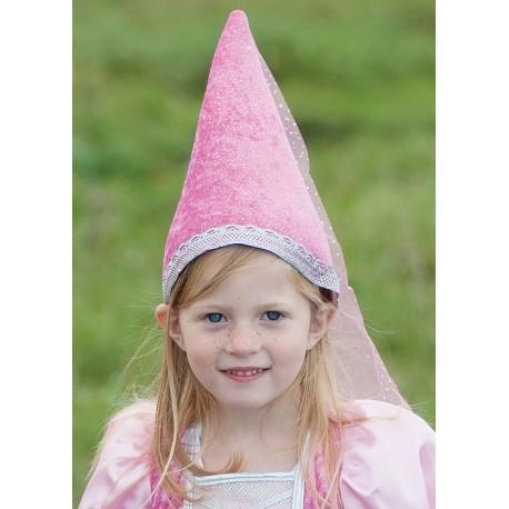 Sombrero puntiagudo rosa