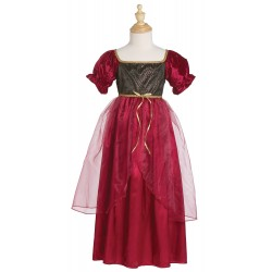 Disfraz Juliette Borgoña ( 5-6 años)