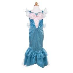 Disfraz de sirena brillante (5-6 años)
