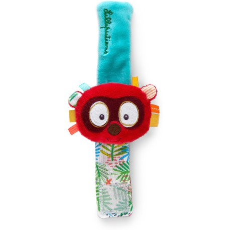 Pulsera sonajero del lémur Georges (George bracelet rattle)