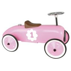 Correpasillos coche vintage rosa