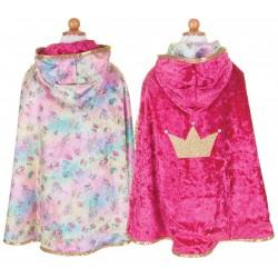 Capa reversible de Bella durmiente y campanilla (5-6 años)