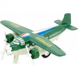 Avión de mensajería verde