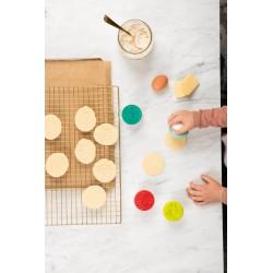 4 marcadores de personajes para galletas