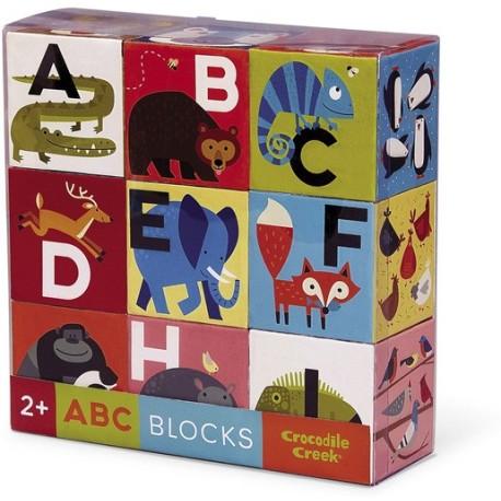 Puzle de bloques Animalia