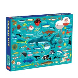 Puzle de 1000 piezas de animales del Océano