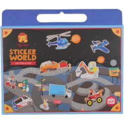 Pegatinas del mundo real (Sticker World On the Move)