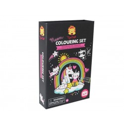 Set pinta unicornios brillantes