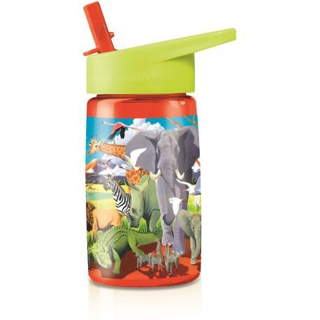 Botella infantil de Tritán Safari
