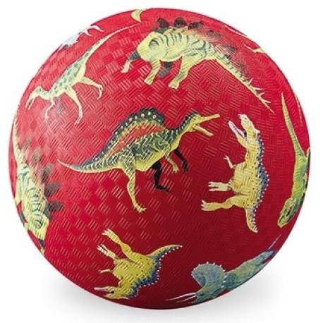 Pelota de 18 cm Dinosaurio (rojo)
