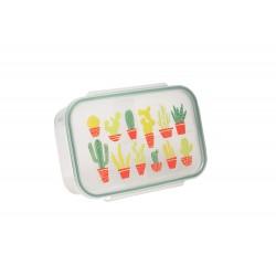 Fiambrera con 3 compartimentos Happy Cactus