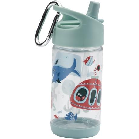 Botella infantil de Tritán Océano
