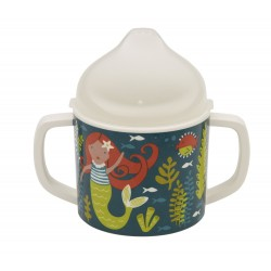 Taza con boquilla y asas Isla the mermaid