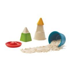 Juego para crear formas en la arena