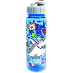 Botella infantil grande de tritán Mar