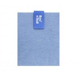 Porta bocadillos Boc'n'Roll square Azul Eco