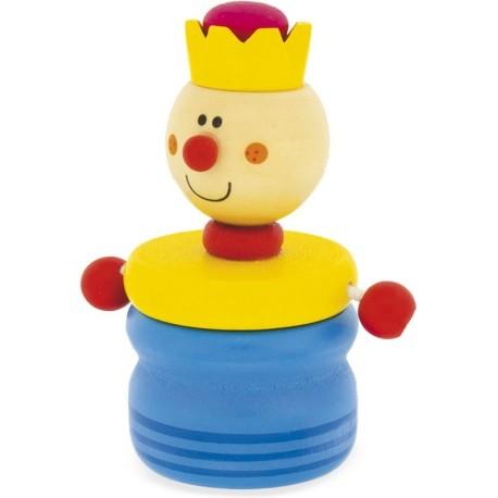 Caja de madera para guardar los dientes de un rey