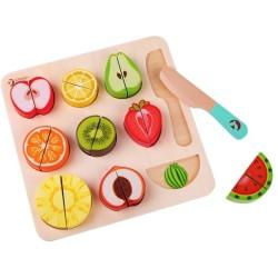 Puzle para cortar frutas