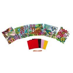 Láminas de terciopelo para colorear