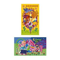 Láminas de unicornios personalizables con goma adhesiva