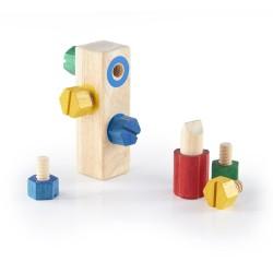Bloque para enroscar tornillos de madera