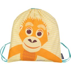 Mochila de cordones naranja Orangután