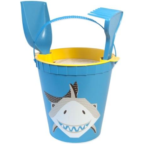 Set de playa azul Tiburón