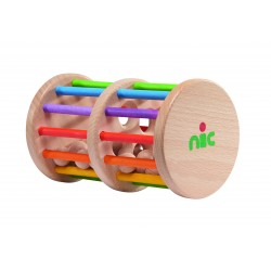 Roller sonajero de madera