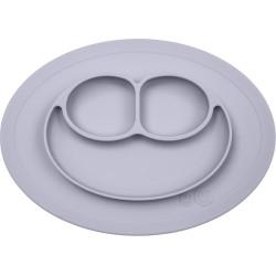 Vajilla infantil de silicona The Mini Mat gris claro (pewter)