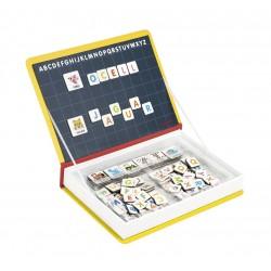 Maletí-llibre magnètic per aprendre l'alfabet català (Català)