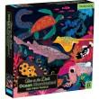 Puzle fluorescente de 500 piezas del océano