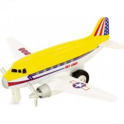 Avión sky liner amarillo
