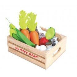 La cesta de hortalizas