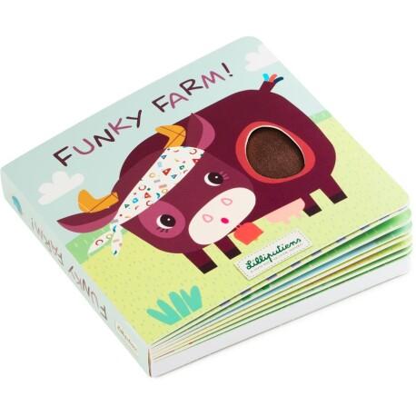 Libro de sonidos y texturas de la granja