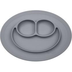 Vajilal infantil de silicona The Mini Mat gris