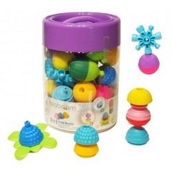 Set de 48 piezas de perlas y accesorios Lalaboom