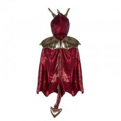 Capa dragón rojo (3-4 años)