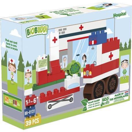 Bloques para construir un hospital (39 pcs.)