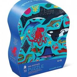 Puzle de 72 piezas animales aquáticos