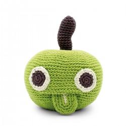 Ringo, la manzana, caja musical y sonajero eco