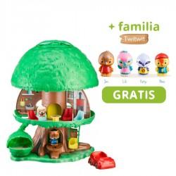 ¡Árbol mágico + familia Twitwit gratis!