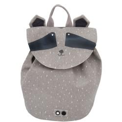 Mini mochila del mapache