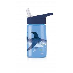 Botella infantil de tiburones de tritán