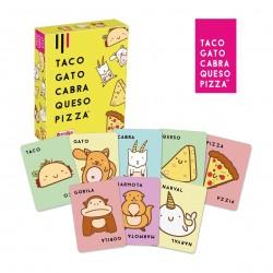 """Juego de mesa """"Taco, Gato, Cabra, Queso, Pizza"""""""
