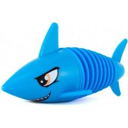 Tiburón mordedor azul