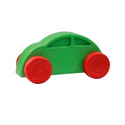 Coche verde y rojo eco-friendly y antibacteriano