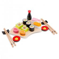 Set de sushi de madera