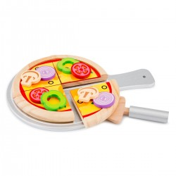 Set de pizza de madera